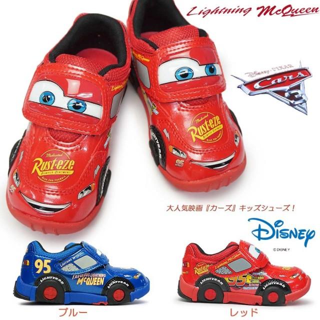 ディズニー カーズ C1200 子供スニーカー マジック式 キャラクター 映画カーズ3 キッズ用 Disney Cars