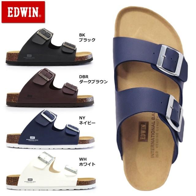 エドウィン メンズ サンダル EB1001 EDWIN コンフォート 紳士 事務所履き スリッパ つっかけ EDWIN INTERNATIONAL BASIC