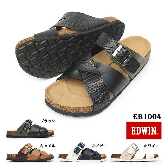 エドウィン サンダル メンズ EB1004 インターナショナル ベーシック つっかけ コルク EDWIN INTERNATIONAL BASIC GENUINE QUALITY