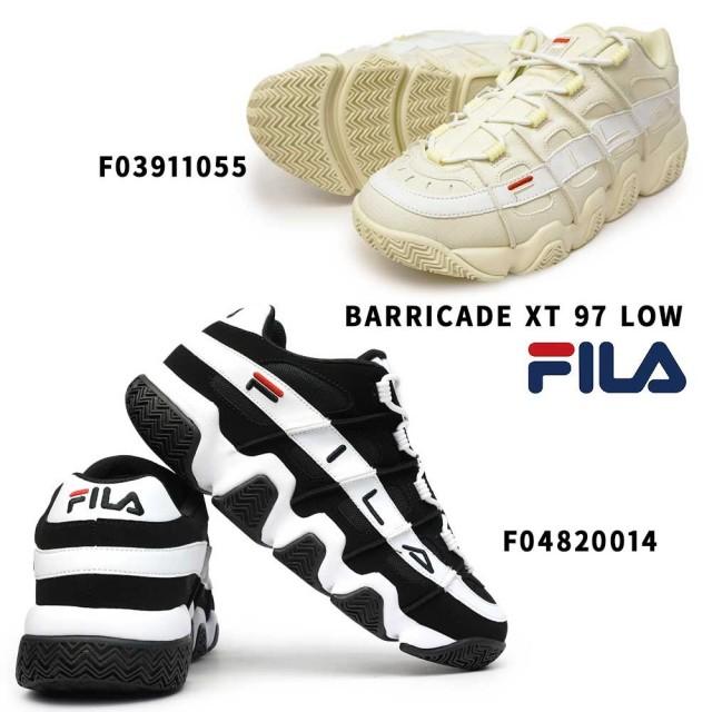 フィラ FILA スニーカー F0391 F0482 バリケード XT 97 ロウ メンズ レディース レトロ バスケットシューズ ユニセックス ダッドスニーカー FILA BARRICADE XT 97 LOW