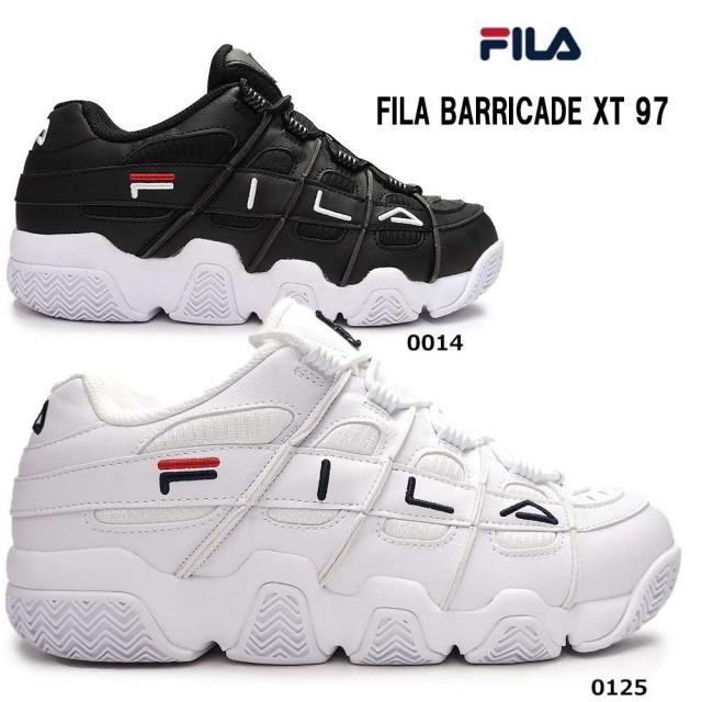 フィラ スニーカー メンズ フィラバリケード TX97 F0414 レトロ バスケットシューズ ダッドスニーカー FILA BARRICADE