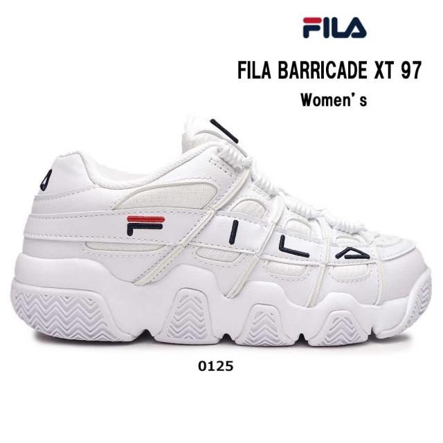 フィラ スニーカー レディース フィラバリケード ウィメンズ TX97 F0415 レトロ バスケットシューズ ダッドスニーカー FILA BARRICADE Womens