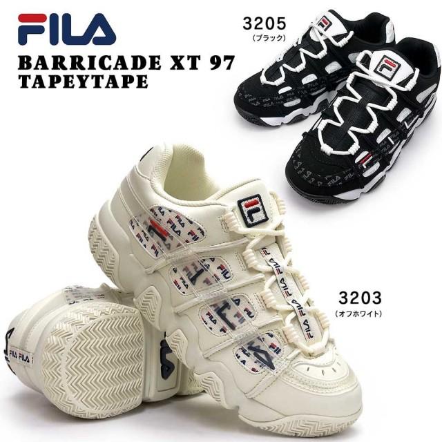 フィラ FILA スニーカー F0481 バリケードXT 97 メンズ レディース レトロ バスケットシューズ ユニセックス ダッドスニーカー FILA BARRICADE XT 97 TAPEYTAPE