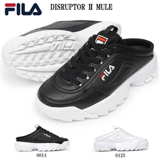 フィラ スニーカー レディース F0503 ディスラプター2 ミュール SL 厚底 ダッドスニーカー サンダル FILA DISRUPTOR ii MULE ウィメンズ