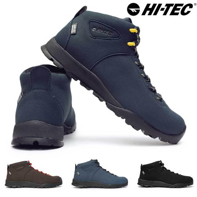 ハイテック スニーカー メンズ HKU13 アオラギ クラシック WP 防水 ブーツ キャンプ アウトドア カジュアル 透湿 替え紐付 HI-TEC HT HKU13 AORAKI CLASSIC WP