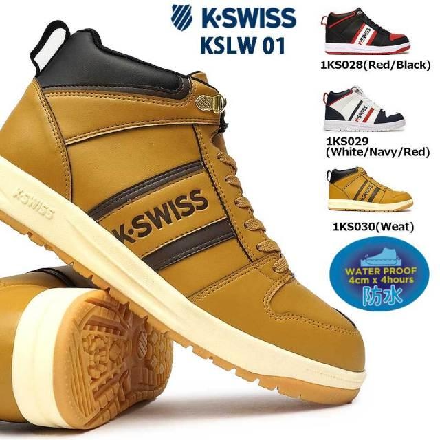 ケースイス 防水 スニーカー KSLW 01 メンズ ウィンタースニーカー スノーシューズ Kスイス K・SWISS