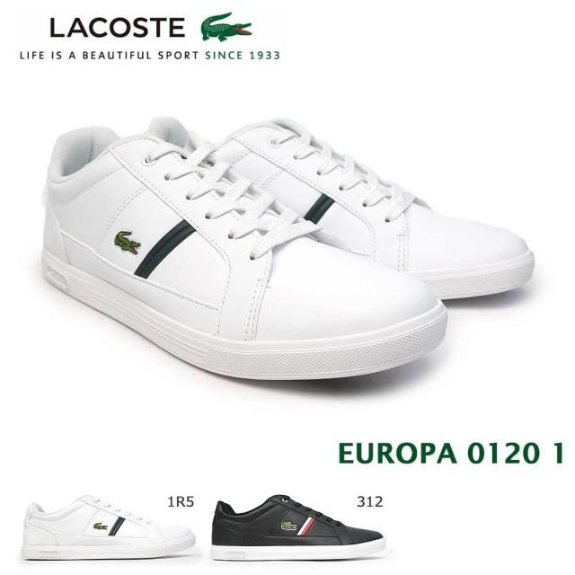 ラコステ スニーカー メンズ ヨーロッパ 0120 1 SM00070 レザー コートスタイル LACOSTE EUROPA 0120 1