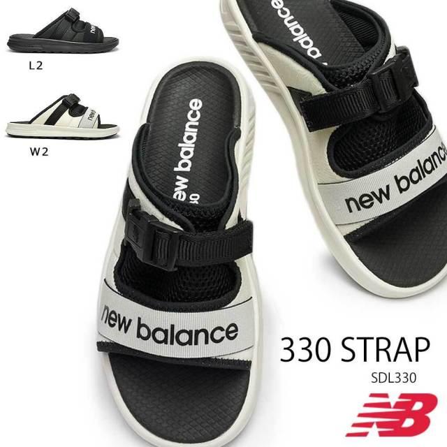 ニューバランス サンダル SDL330 STRAP メンズ スポーツサンダル スライドサンダル アウトドア new balance