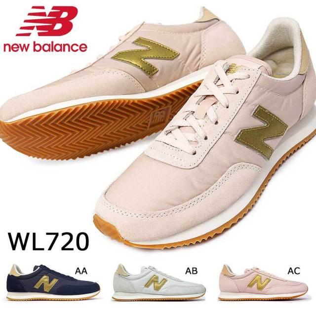 ニューバランス スニーカー レディース WL720 軽量 スエード ナイロン ランニングスタイル ジョギング オーソドックス new balance