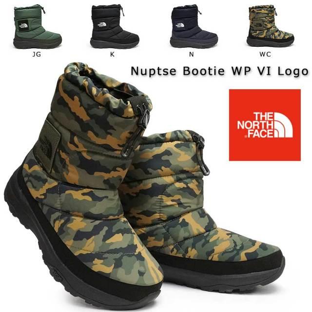 ザ ノースフェイス ブーツ メンズ レディース NF51876 ヌプシブーティーウォータープルーフVIロゴ ユニセックス 防水 THE NORTH FACE Nuptse Bootie WP VI Logo