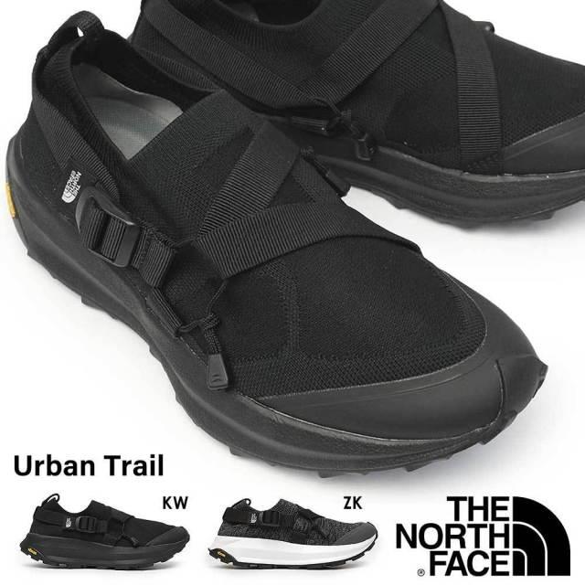 ザ ノースフェイス スニーカー NF52003 アーバン トレイル メンズ レディース ランニングシューズ ユニセックス ニット オールラウンド対応 スリッポン ウェビングテープ ビブラム ペア お揃い THE NORTH FACE Urban Trail