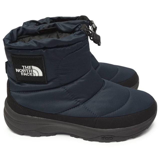 ザ ノースフェイス 防水 ブーツ NF52076 メンズ レディース ヌプシ ブーティー ウォータープルーフ ロゴ ショート 雪国 THE NORTH FACE Nuptse Bootie WP Logo Short