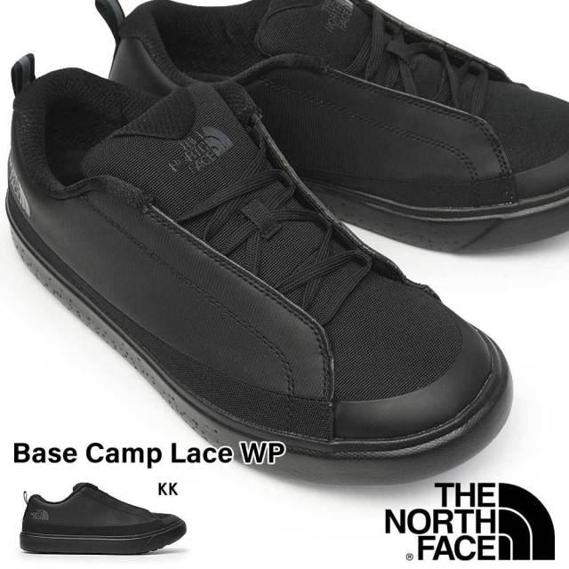 ザ ノースフェイス 防水 シューズ NF52144 メンズ レディース ベース キャンプ レース ウォータープルーフ ペア お揃い アウトドア 防水透湿 THE NORTH FACE Base Camp Lace WP