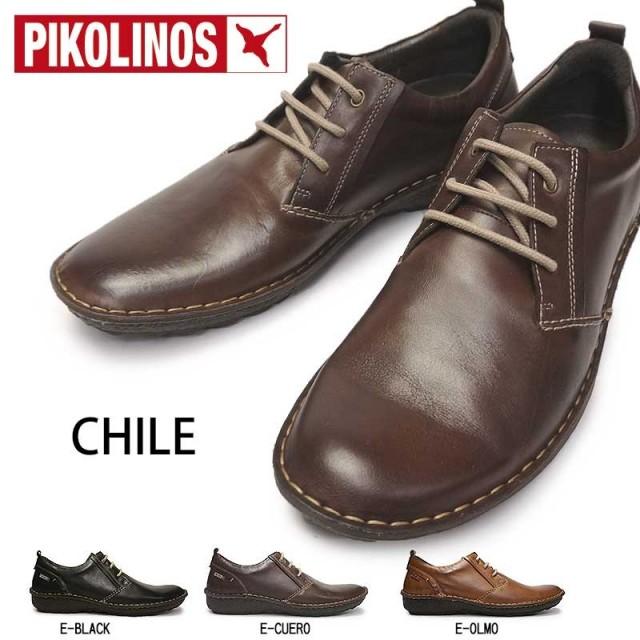 ピコリノス メンズ カジュアルシューズ 01G-5055 コンフォート ウォーキング PK233 ハンドメイド PIKOLINOS Chile