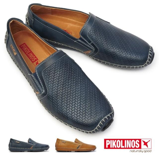 ピコリノス 靴 メンズ 09Z-3178 スリップオン PK-239 ヘレス 本革 ドライビングシューズ レザー PIKOLINOS JEREZ PK239