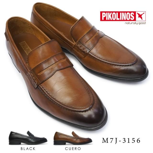 ピコリノス 靴 メンズ M7J-3156 ローファー PK-336 ブリストル 本革 ビジネスシューズ PIKOLINOS BRISTOL M7J