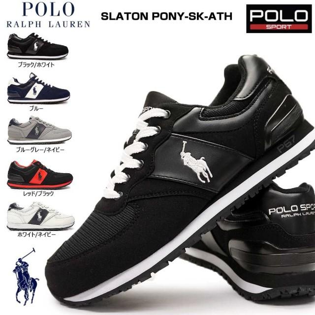 ポロ ラルフローレン ポロスポーツ スレイトンポニー SK-ATH RS01 クラシックスニーカー ランニング ズ メンズ POLO RALRH SLATON PONY-SK-ATH