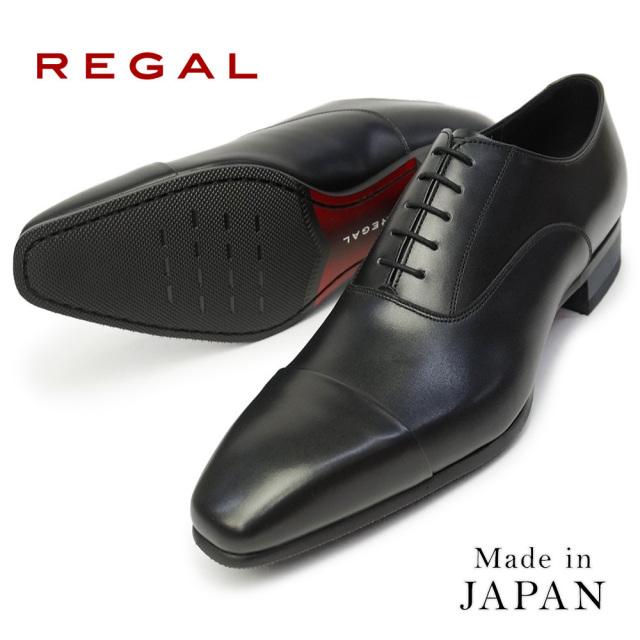 リーガル 靴 内羽根 ストレートチップ 10LR メンズ 日本製 ビジネスシューズ レースアップ REGAL 細めスタイル REGAL 10LRBD Made in Japan
