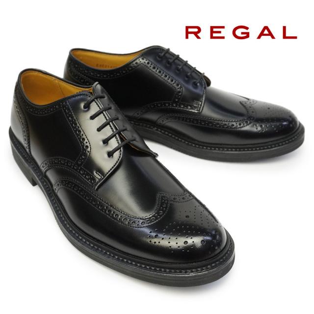リーガル 靴 メンズ ウイングチップ JU14 日本製 本革 ビジネスシューズ カジュアル フォーマル Regal JU14AG Made in Japan