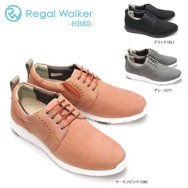 リーガル 靴 レディース スニーカー HB80 レースアップ リーガルウォーカー カジュアル REGAL Walker レザースニーカー 本革 シューズ