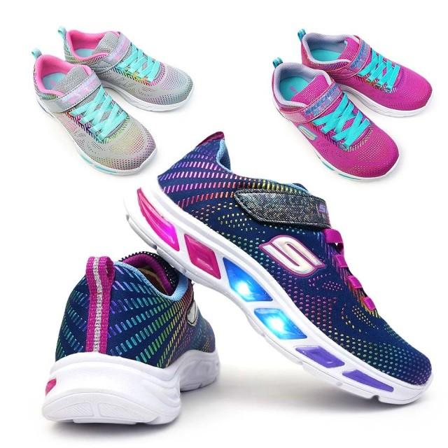 スケッチャーズ 光る靴 ガールズ 10959L エスライツ LITEBEAMS 子供 スニーカー キッズ ジュニア SKECHERS Girls S LIGHTS GALAXY LIGHTS 10959L 子供靴
