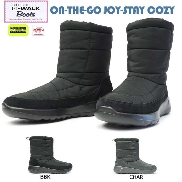スケッチャーズ レディース ゴーウォーク ブーツ 16615 ON THE GO JOY-STAY COZY 軽量 スノーブーツ Skechers GO WALK BOOTS ON THE GO JOY-STAY COZY