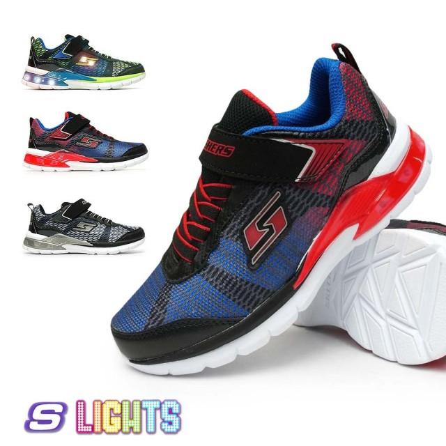 スケッチャーズ 光る靴 90553L ERUPTERS II ボーイズ 子供 スニーカー エスライツ 男の子 SKECHERS S LIGHTS Erupters ii Lava Waves