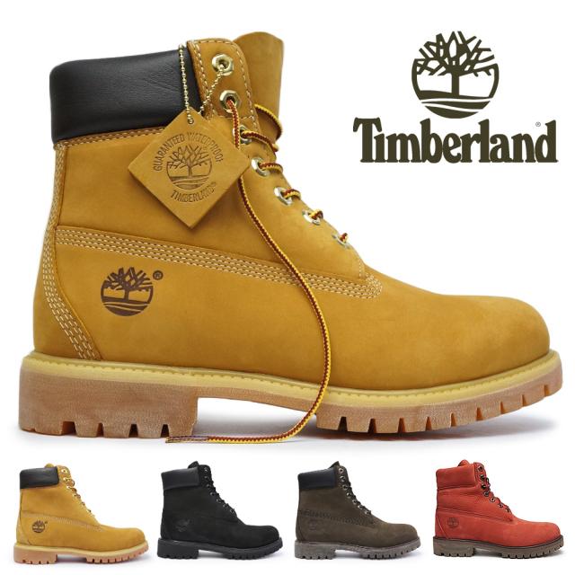 ティンバーランド アイコン シックスインチ プレミアムブーツ 定番 正規品 メンズ 防水 本革 6インチ Timberland 6inch Premium Boots