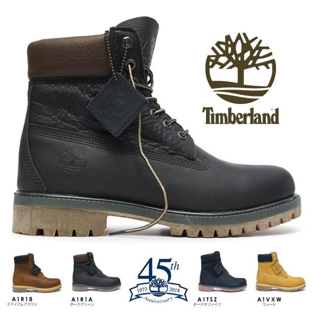 ティンバーランド 防水 ブーツ ヘリテージ シックスインチ プレミアムブーツ 45周年 正規品 メンズ 本革 6インチ Timberland 6inch Premium Boots 45th