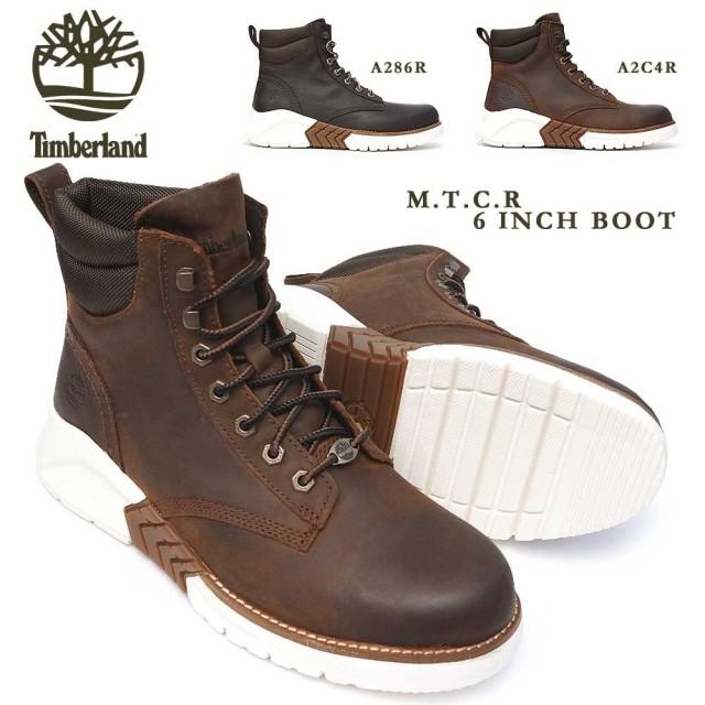 ティンバーランド メンズ ブーツ MTCR 6インチ ブーツ レザー ワイド Timberland M.T.C.R. 6 IN BOOT A286R A2C4R