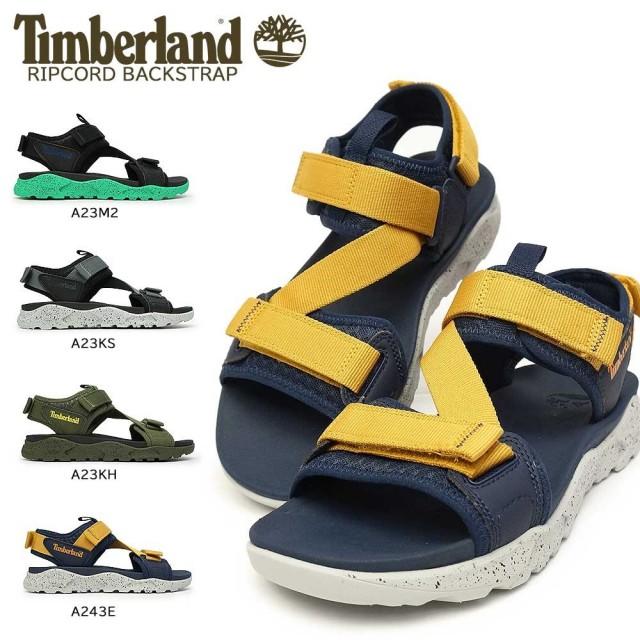 ティンバーランド 靴 メンズ サンダル リップコード バックストラップ アウトドア メッシュ Timberland RIPCODE BACKSTRAP