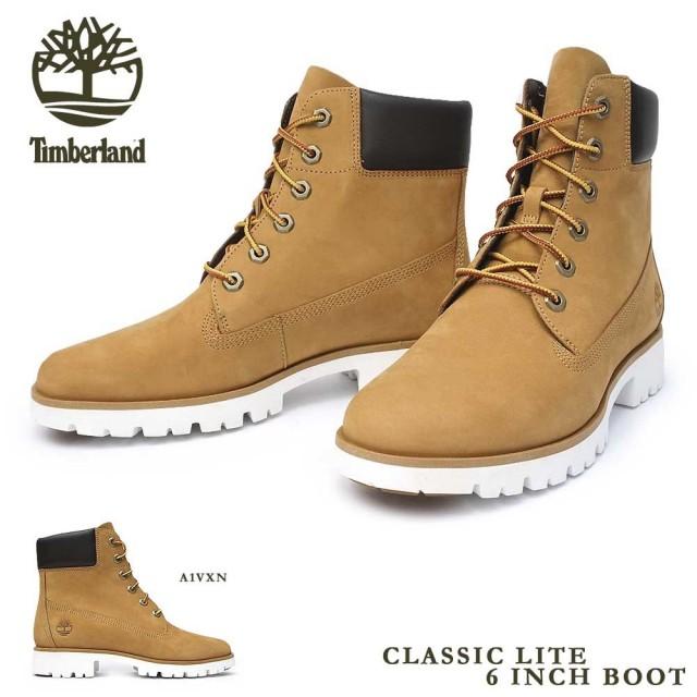 ティンバーランド レディース クラシック ライト 6インチ ブーツ イエロー 軽量 Timberland CLASSIC LITE 6 IN BOOT A1VXN