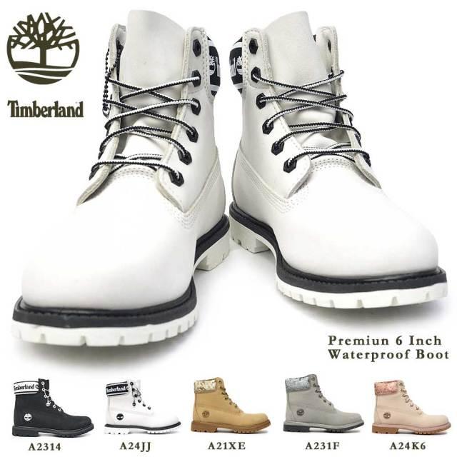 ティンバーランド レディース ブーツ 防水 プレミアム 6インチ ウォータープルーフ ブーツ アイコン レザー 定番 Timberland PREMIUM 6 IN WATERPROOF BOOT