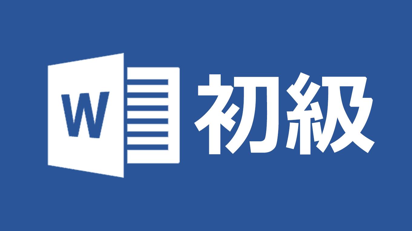 [Biz]Microsoft Word 初級