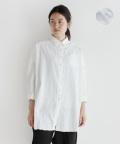 【nofl】パナマ織コットンビッグシャツ