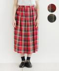【nofl】スペックチェックサイドポケット付きスカート