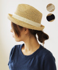 ラフィア帽子 kei
