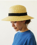 中川政七商店リネンリボンの麦藁帽子