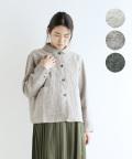 【YARRA】リネンウールツイルジャケット
