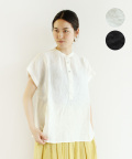 【YARRA】リネンショートスリーブシャツ