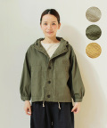 【NARU】コットンフェザーフード付きジャケット