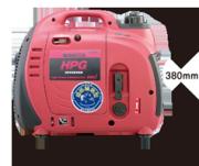 【送料無料】インバータ発電機HPG900i