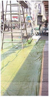 スベランシート 透明緑色 送料無料!(0.03mm厚×1000mm幅×100m巻 25本/セット)