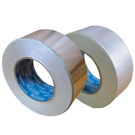 アルミ箔粘着テープ (ツヤ有り・ツヤ無し) 送料無料!(75mm幅×50m巻 24個/セット)