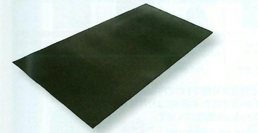 ブラックターフ(凸凹あり・フラット) 送料無料 (15mm×1000mm×2000mm 1枚)