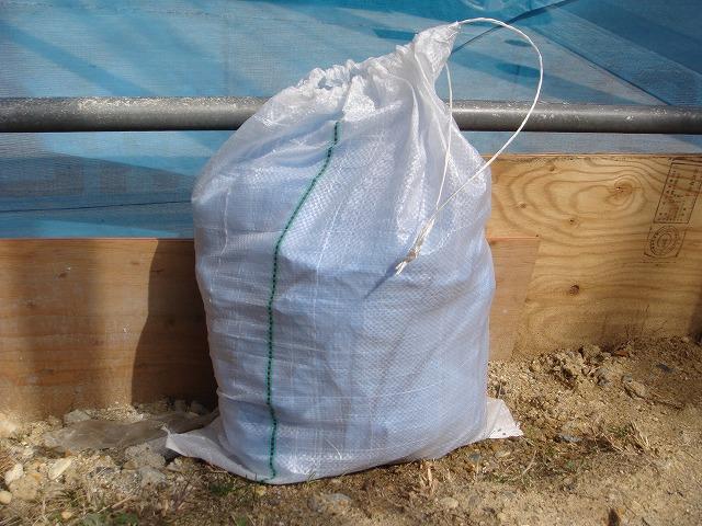 雑袋(白・緑ライン入り) 送料無料!(480mm×620mm 4000枚/セット)