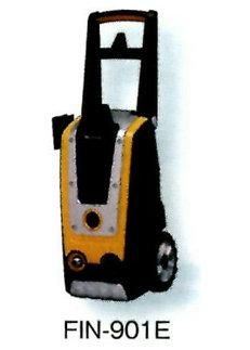 高圧洗浄機 FIN-901Eイエロー 送料無料! (300mm×300mm×840mm 1セット)