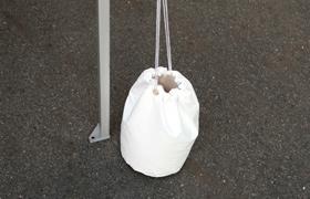かんたんてんと3オプション 砂袋15キロ用 送料無料!(PVCターポリン製 砂容量最大15キロ/1台)