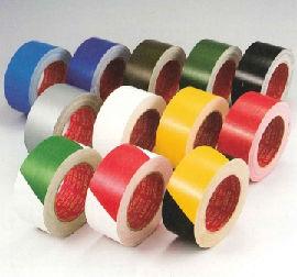 布粘着テープ(カラー)#3362 送料無料!(0.26mm厚×75mm幅×25m巻 48個/セット)