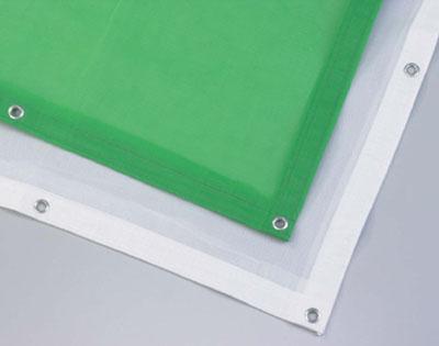 ラッセルメッシュシート(ホワイト) 送料無料!(1800mm幅×3600mm 90枚/セット)